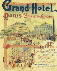 Plakat um 1900, InterContinental Le Grand
