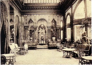 Salon Mauresque, Hôtel Continental Paris