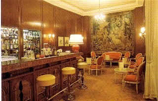 Bar zw. 1969 - 2005, Hôtel Le Bristol Paris