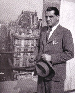 Luis Buñuel in Paris, 1933