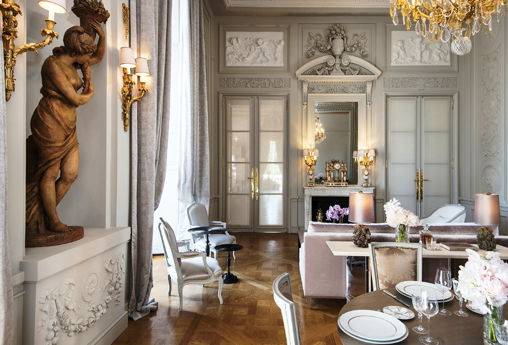 Salon Marie-Antoinette, Crillon Paris